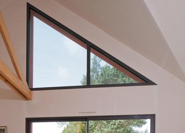 Estructuras especiales y compuestas ventanas k line for Store occultant pour fenetre triangle