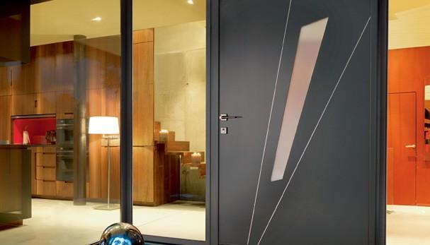 Puertas de entrada ventanas k line ventanas de aluminio fabricantes de ventanas y puertas - Puertas de aluminio de exterior ...
