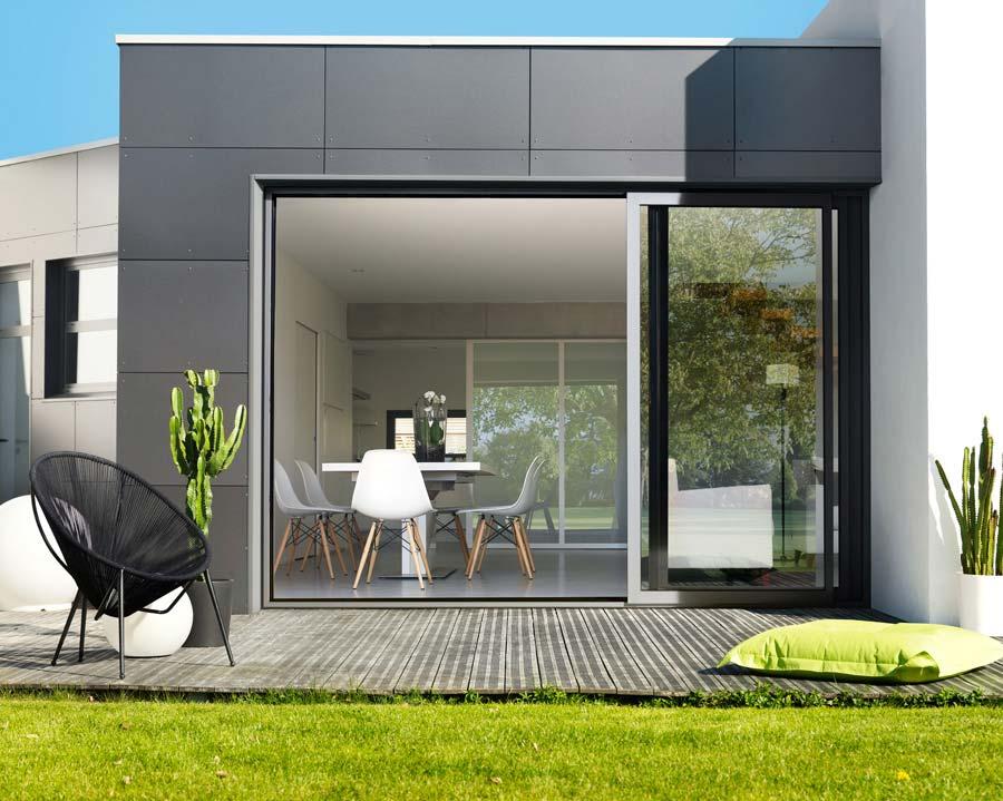 Correderas 3 ra les ventanas k line ventanas de aluminio fabricantes de ventanas y puertas for Baie vitree industrielle