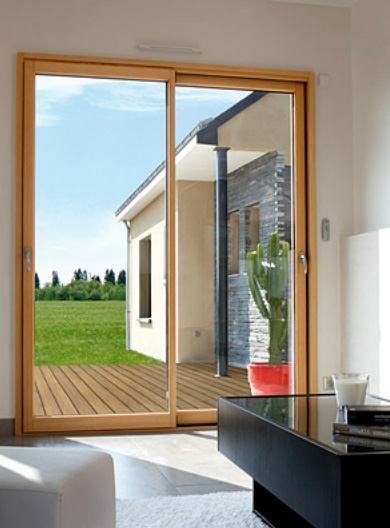 Ventanas y puertas madera aluminio ventanas k line for Ventanales elevables