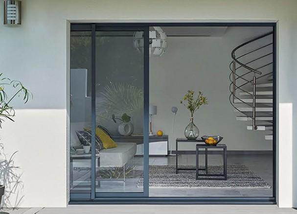 Correderas de hojas ocultas ventanas k line ventanas de - Puerta balconera aluminio ...