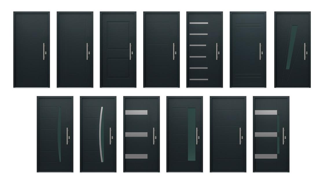 Puertas de entrada ventanas k line ventanas de aluminio - Puertas acristaladas exterior ...